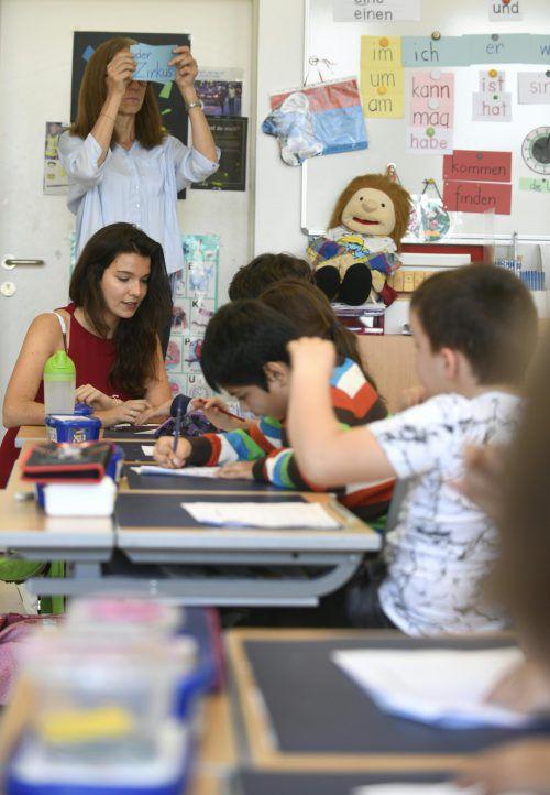 Die Umstrukturierung der Schulverwaltung soll letztlich in den Klassenzimmern ankommen. Das muss sich erst zeigen. APA