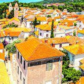 Wunderschöne Altstadt von Rab