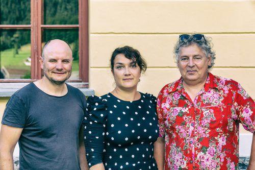 Die Vorstandsmitglieder Georg Sutterlüty, Sandra Pöltl und Werner Schedler (v.l.). Lukas Hämmerle