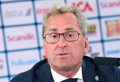 Ein Schwede, Erik Hamren, soll Island zur nächsten EM-Endrunde führen. afp