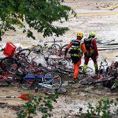Camper vor Sturzfluten in Sicherheit gebracht