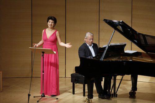 Elisabeth Kulman und Eduard Kutrowatz.Schubertiade