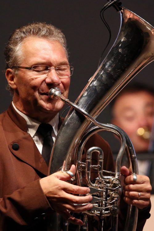Ernst Hutter & Die Egerländer Musikanten haben 800 Konzerte gespielt. Veranstalter