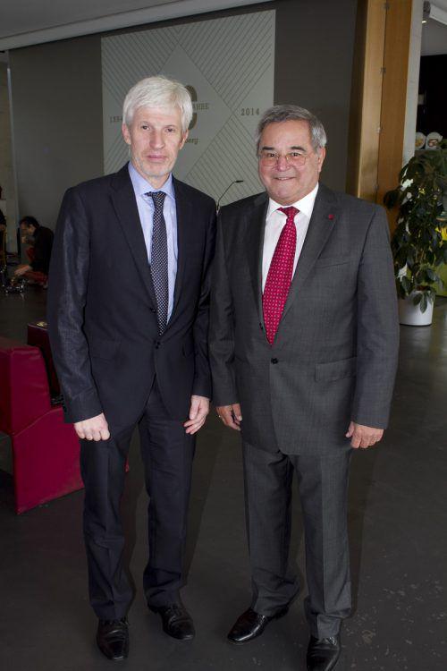 Ex-FHV-Aufsichtsratschef Hubert Regner ist Vordenker des FH-Wesens. Franc
