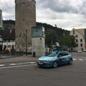 Street View-Auto in Feldkirch