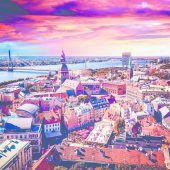 Magisches Licht in Riga
