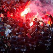 Zusammenstöße in Chemnitz
