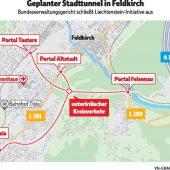 Keine Parteistellung für Liechtensteiner Tunnelgegner