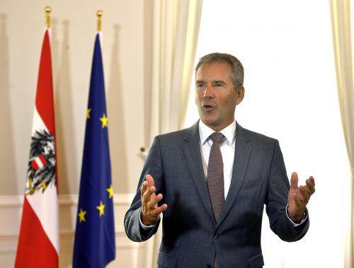Löger verspricht strukturschwachen Gemeinden zusätzlich35 MillionenEuro.APA