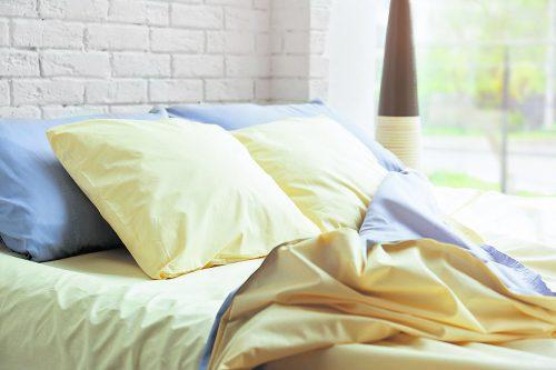 Für eine gute Schlafhygiene benötigen nicht nur die über zügig sondern auch das Innenleben des Bettes eine regelmäßige Pflege.Foto: Shutterstock