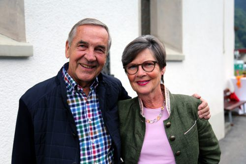Hans und Gudrun Waschkowski kamen zur Eröffnung.