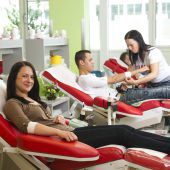 Blutspenden im Sonnenbergsaal