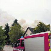 Waldbrand bei Berlin: Dörfer evakuiert