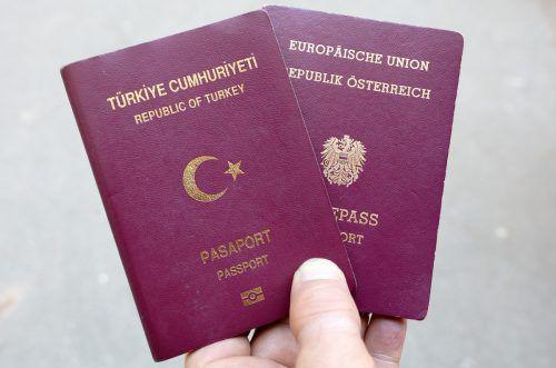 Österreichisch-türkische Doppelstaatsbürgerschaften werden weiter geprüft. apa
