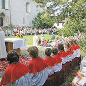 Kirche feiert Fest des Hl. Gebhard