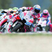 Der Sieg führt über die Ducatis