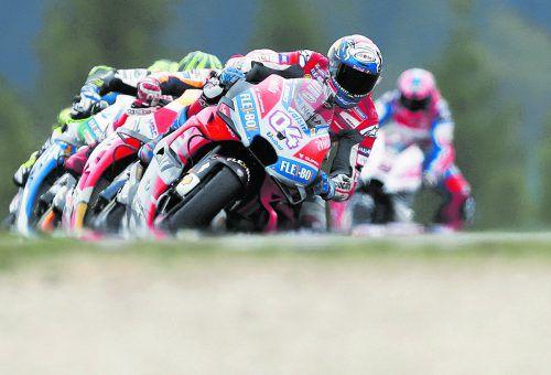 In Training schnell: Ducati-Pilot Andrea Dovizioso ist Favorit. ap