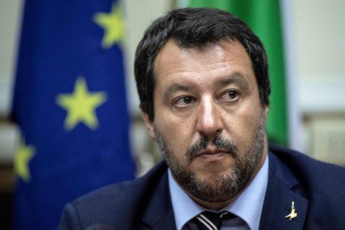 Innenminister Salvini drängt auf eine Änderung der Einsatzregeln. AFP