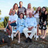 Norwegens Königspaar feiert goldene Hochzeit