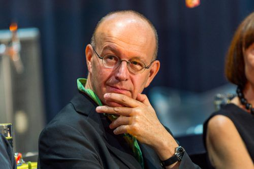 Thomas Larcher bei den diesjährigen Bregenzer Festspielen. Stiplovsek