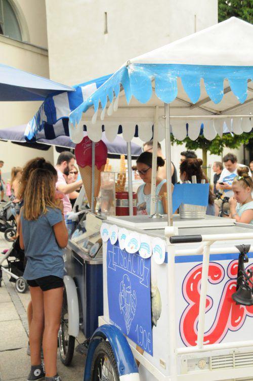 Leckeres Eis aus der Region: Das Dornbirner Eisfestival bietet bei der aktuellen Sommerhitze eine genussvolle Abkühlung. Dorbirn Tourismus