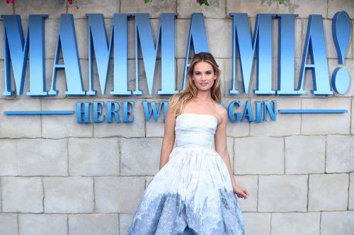 """Lily Jamesverkörpert in """"Mamma Mia 2"""" die junge Donna. Reuters"""