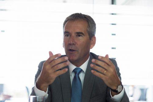 """Löger betont: """"Wir wollen institutionellen Anlegern ermöglichen, wieder stärker in Richtung unternehmerischer Risikokapitalgebung aktiv zu werden."""" VN/Paulitsch"""