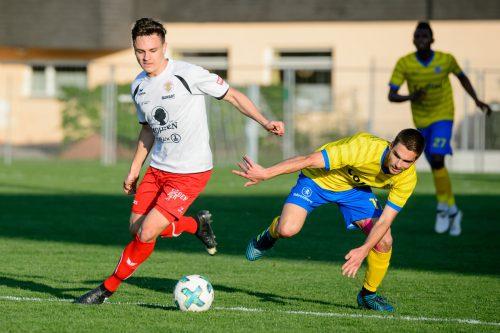 Lukas Fridrikas (Bild) ist neben Carvalho der treffsicherste Offensivspieler beim FC Mohren Dornbirn.VN-Stiplovsek
