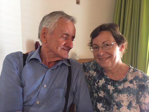 Lydia und Franz lernten sich im Altersheim kennen und lieben. kum