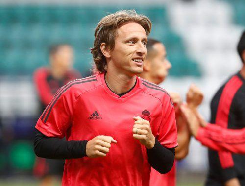 Mailand soll zu intensiv um Real Madrids Luka Modric gebuhlt haben.Reuters