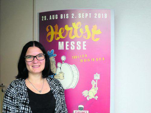 """Marietta Fuchs: """"Wir müssen aktiv auf potenzielle Aussteller zugehen.""""HA"""