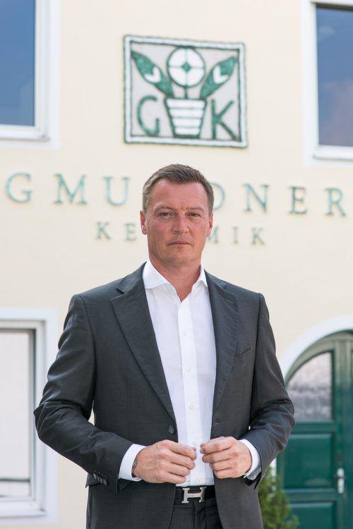 Markus Friesacher ist neuer Herr über Gmundner Keramik. APA