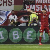 Lewandowski-Gala bei Triumph