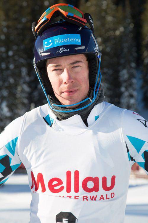 Mathias Graf mit Frühform bei den ersten Rennen in Neuseeland.VN-Hofmeister