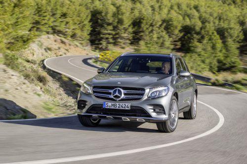 Mercedes GLC: Auf knapp 4,7 Metern Länge offeriert der Stuttgarter komfortablen Reiseraum für bis zu fünf Personen und 550 bis 1600 Liter Ladegut.