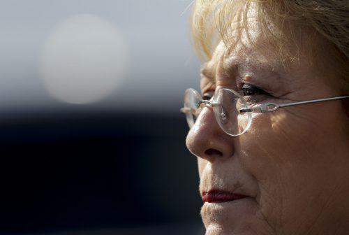 Michelle Bachelet wird mit dem Amt der UN-Menschenrechtschefin betraut. ap