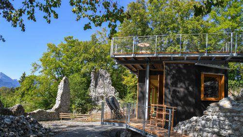 Auf das Gelände der Ruine Blumenegg in Thüringerberg soll heuer wieder (Kultur)Leben zurückkehren.VN-Archiv/Lerch
