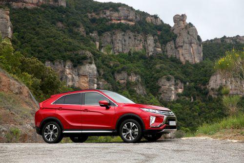 Mit der schicken Coupé-Optik sticht der Mitsubishi Eclipse Cross aus der Masse der Kompakt-SUV.