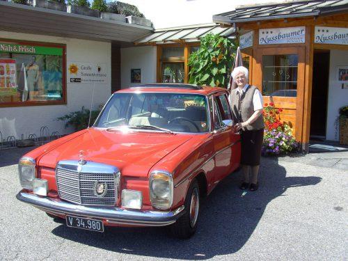 Mit ihrem Mercedes war Rosa bis 2012 unterwegs.