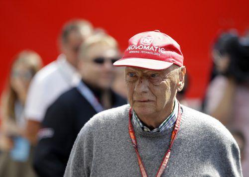 Motorsportlegende Niki Lauda liegt nach einer Lungentransplantation im AKH in seiner Heimatstadt Wien. AP
