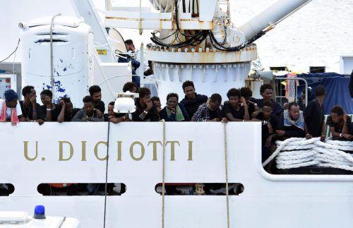 """Nach dem """"Diciotti""""-Drama: Forderung nach einer Lösung der Migrationsfrage.AP"""