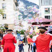 Dornbirner Stadtfest Urbikuss mit The Monroes und folkshilfe