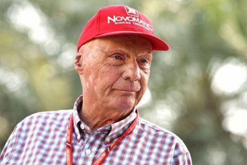 Niki Lauda musste seinen Weihnachtsurlaub auf Ibiza wegen einer Grippeerkrankung abbrechen. Er wird im AKH Wien behandelt. AFP