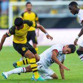 Dortmund konnte in Altach nicht überzeugen