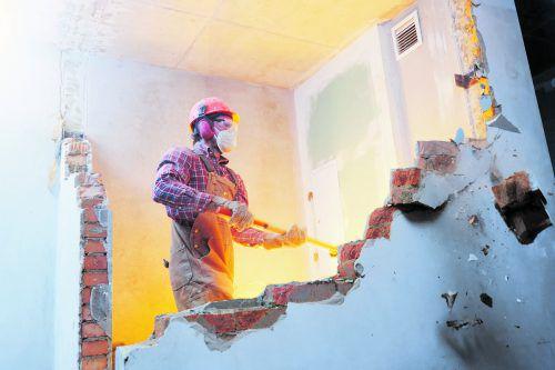 Ohne Einverständnis dürfen keine Mauern niedergerissen werden.foto: Shutterstock
