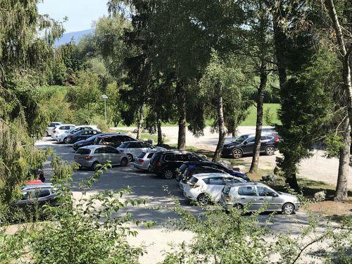 Am Alten Rhein sollen schon bald Parkgebühren eingeführt werden. VN/Hämmerle