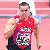 Schweiz sperrteSprinter Mancini