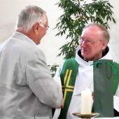 Pater Roman nahm Abschied aus Bludenz