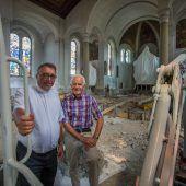 Die Lauteracher Kirche rüstet auf