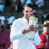 Titel Nummer 80 für Rafael Nadal